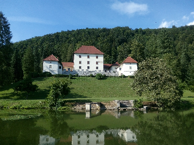 Grad Strmol - Cerklje na Gorenjskem.